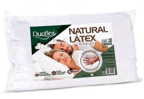 HIGH NATURAL LATEX KING PILLOW