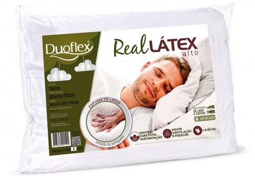 HIGH REAL LATEX PILLOW