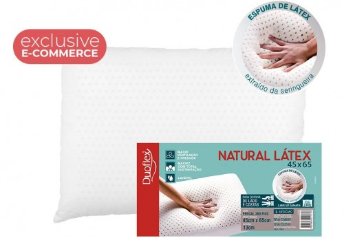 STANDARD NATURAL LATEX PILLOW (E-COM)