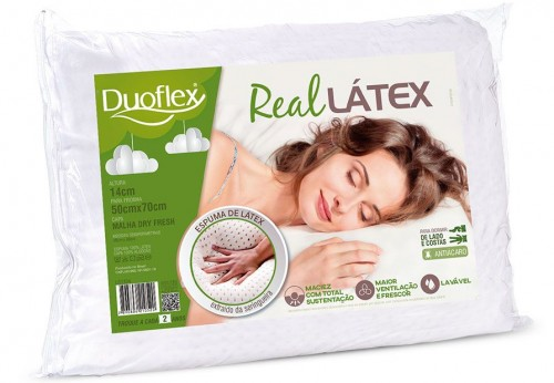 REAL LATEX PILLOW