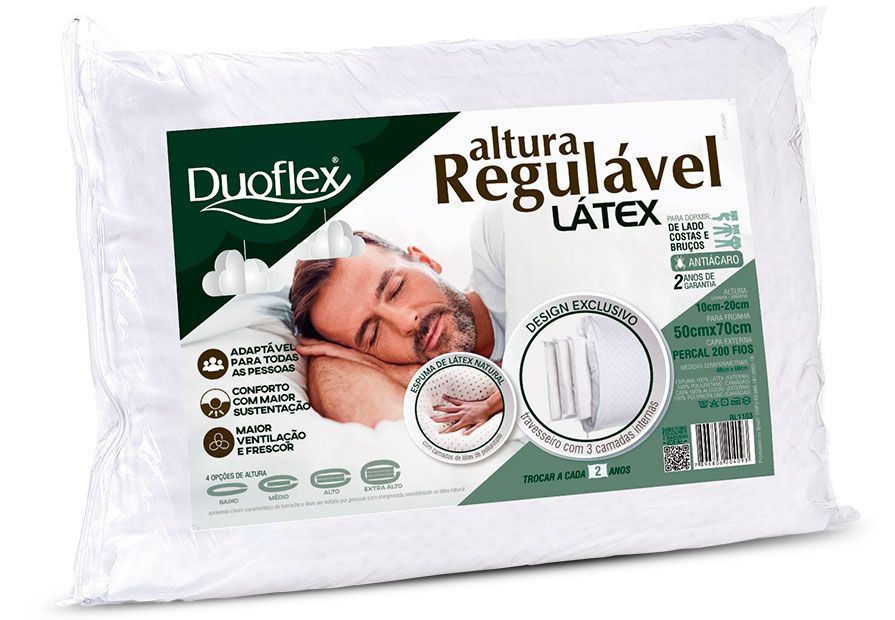 ALTURA REGULABLE LÁTEX
