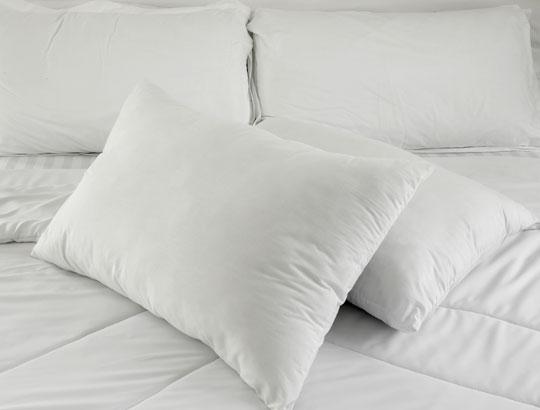 A hora certa para trocar o travesseiro