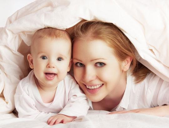 Como dormir melhor após o nascimento do bebê