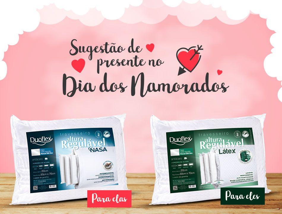 SUGESTÃO DE PRESENTE PARA MUITAS NOITES DE CONFORTO DO CASAL - DIA DOS NAMORADOS