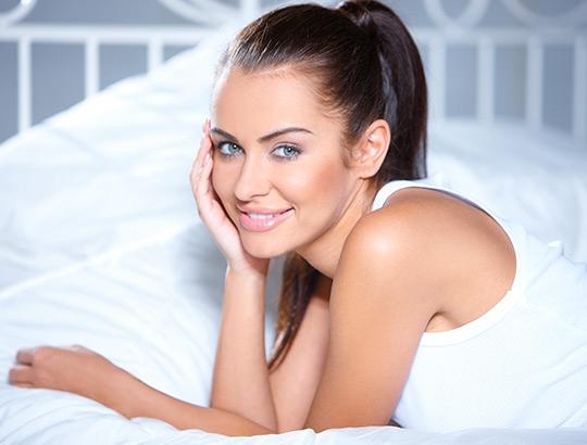 O sono da beleza da mulher