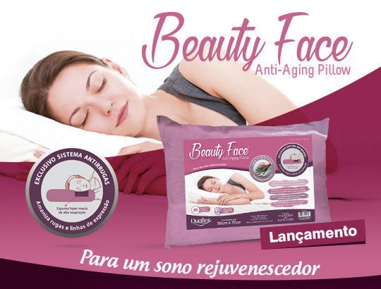 Beauty Face, o travesseiro que rejuvenesce!