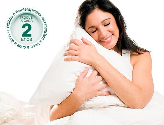 Evite a Rinite Alérgica com a troca de travesseiros