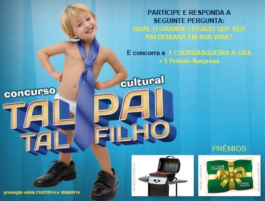 """CONCURSO CULTURAL """"TAL PAI, TAL FILHO"""""""